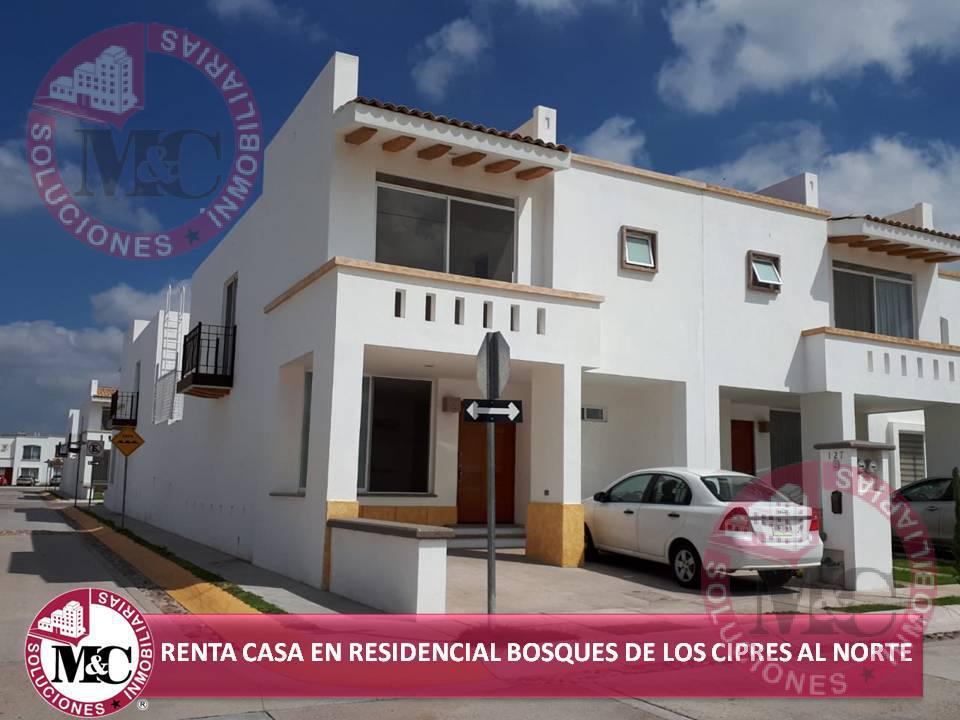 Foto Casa en Renta en  Fraccionamiento Residencial Cedros,  Jesús María  MC RENTA CASA EN RESIDENCIAL BOSQUES DE LOS CIPRES AL NORTE