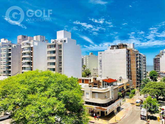 Foto Departamento en Venta en  Pocitos ,  Montevideo  Uno por piso, amplio living comedor apaisado y soleado , gge fijo