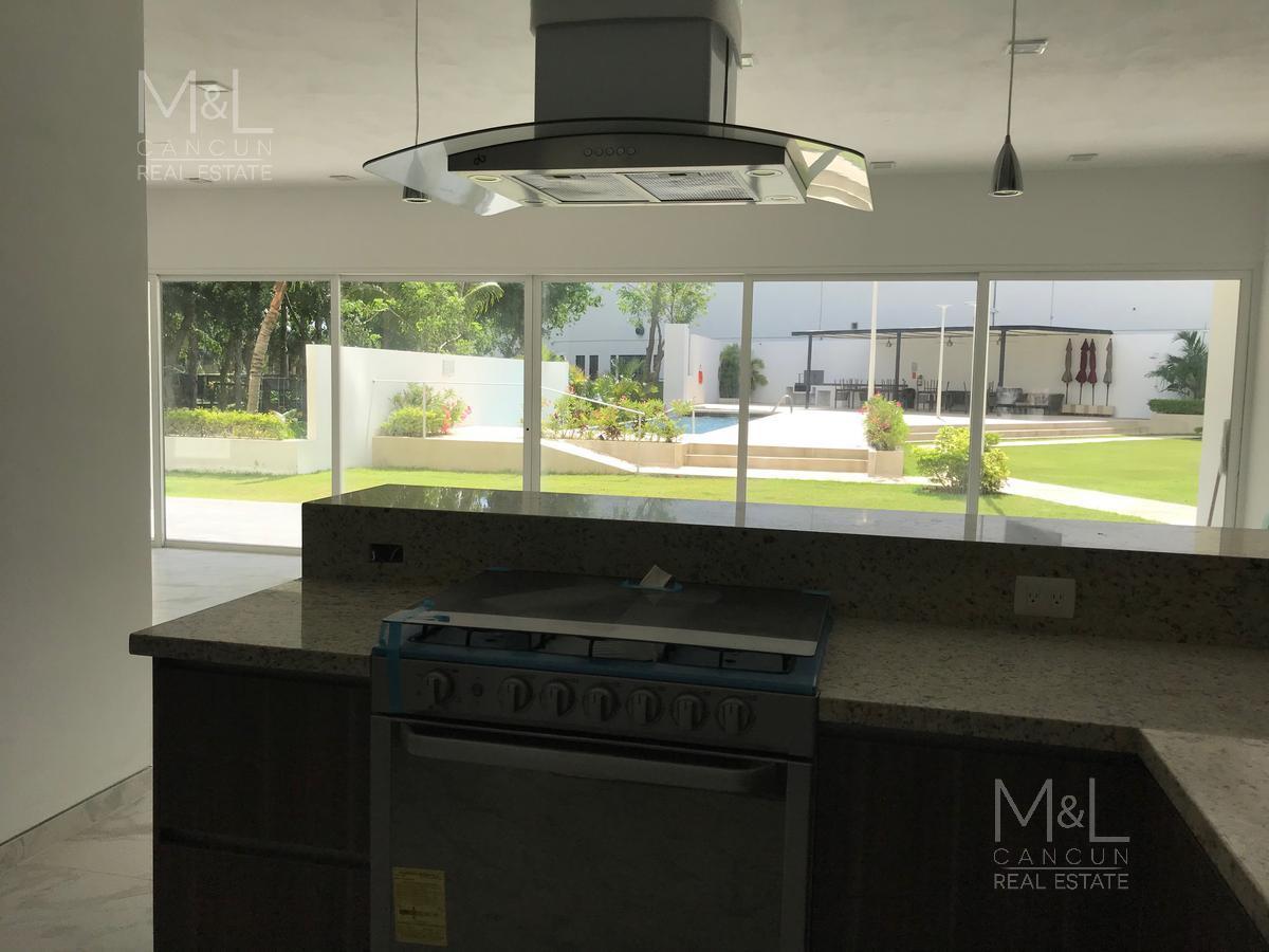 Foto Departamento en Renta en  Residencial Palmaris,  Cancún   Departamento en Venta o Renta  en Cancún, PALMETTO 20  GARDEN 2, 3 recámaras,  Palmaris