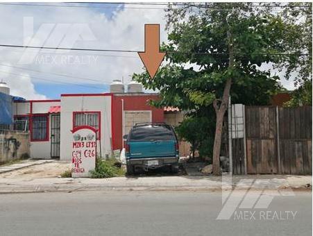 Foto Casa en Venta en  Cancún,  Benito Juárez  FRACCIONAMIENTO GALAXIA DEL SOL, SM 253, CANCUN, Q. ROO, ESCRITURA Y POSESIÓN, $265,000 CONTADO MUY NEGOCIABLE