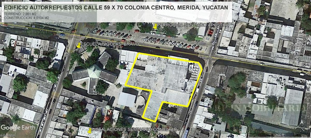 Foto Edificio Comercial en Venta en  Mérida ,  Yucatán  EDIFICIO EN SANTIAGO MERIDA YUCATAN