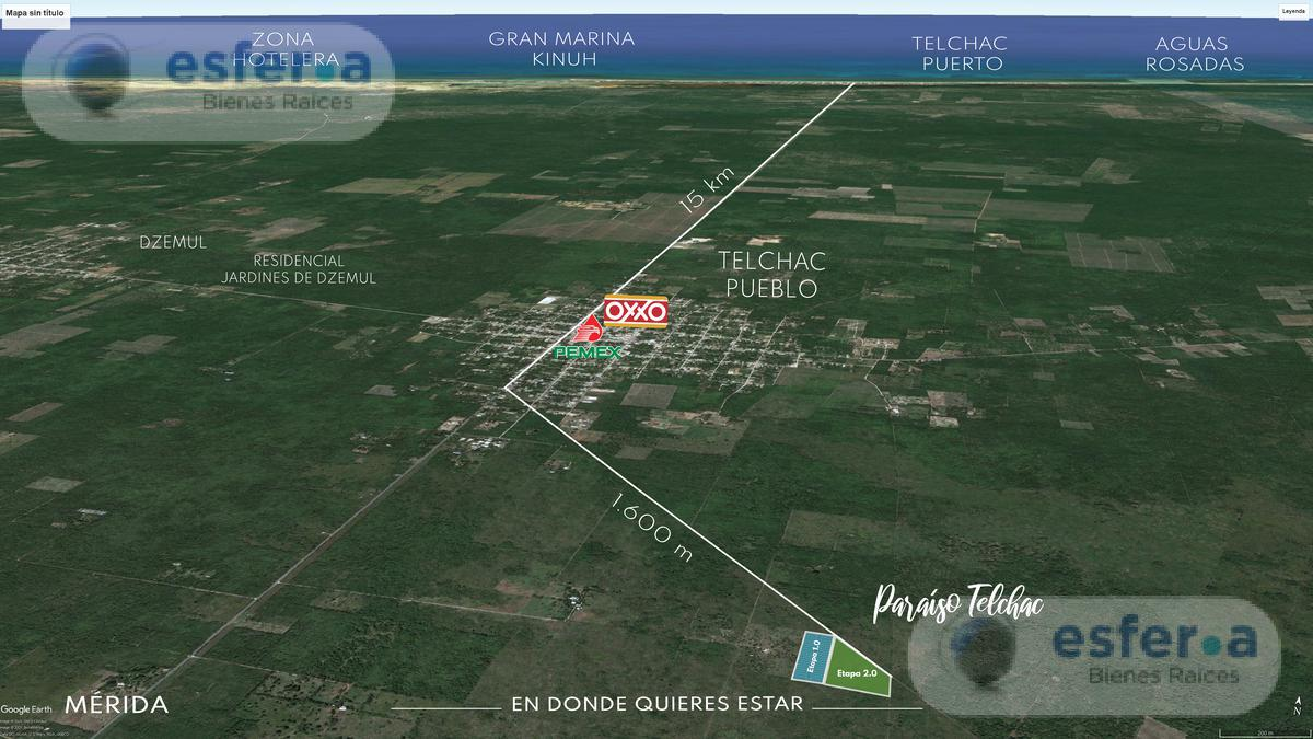 Foto Terreno en Venta en  Telchac Puerto ,  Yucatán  Terrenos de Inversión Plus En Venta en Telchac Puerto