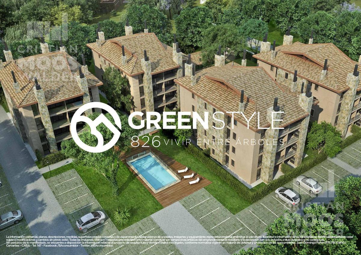 Foto Departamento en Venta en  Ingeniero Maschwitz,  Escobar  Green Style-Edificio 3-PB-Dpto. 1