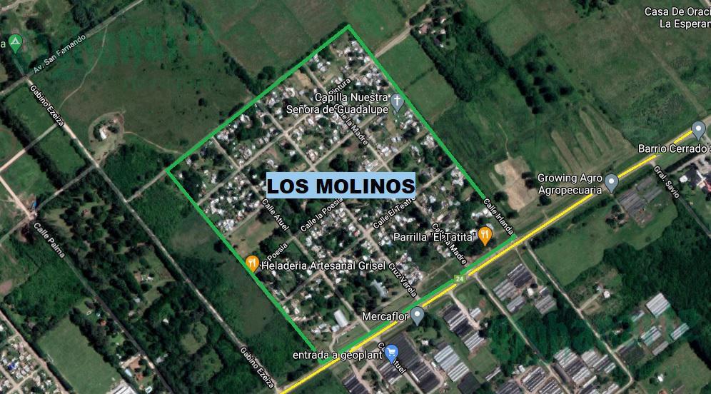 Foto Terreno en Venta en  Moreno ,  G.B.A. Zona Oeste  LOS MOLINOS