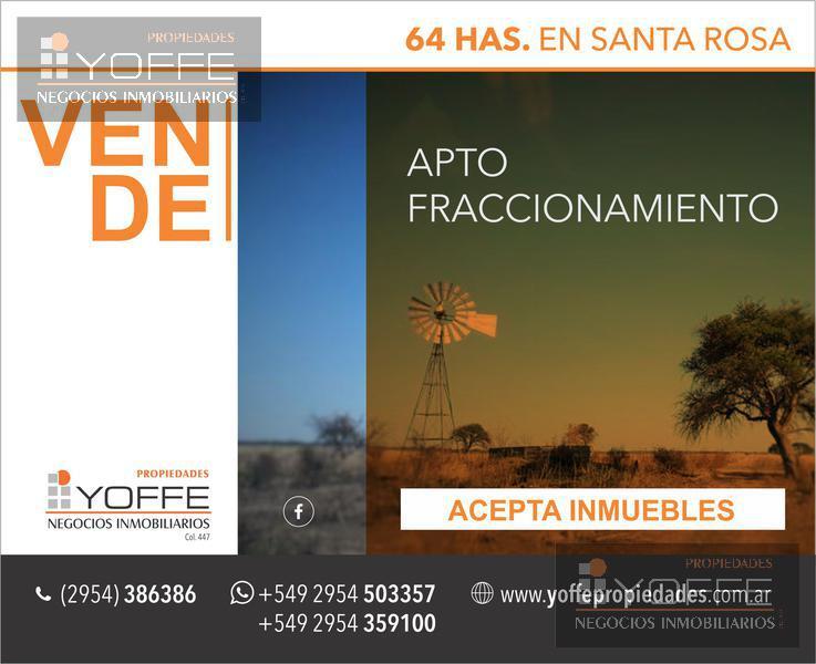 Foto Campo en Venta en  Capital ,  La Pampa  Capital