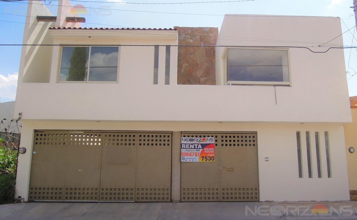 Foto Oficina en Renta en  Colinas del Parque,  San Luis Potosí  Amplia Casa para uso de Oficina en Renta Bien Ubicada en Fracc Colinas del Parque SLP L-7530