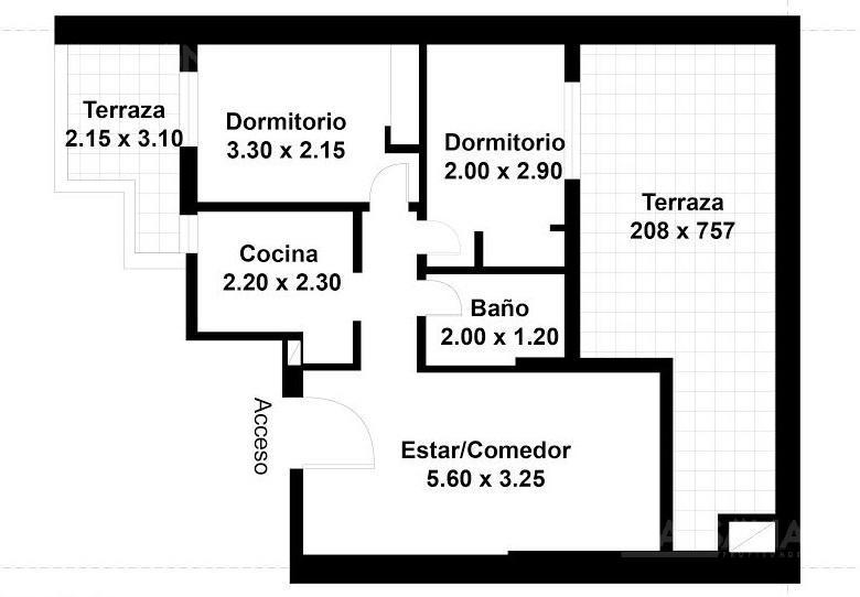 Foto Departamento en Venta en  Recoleta ,  Capital Federal  SANCHEZ DE BUSTAMANTE al 1700