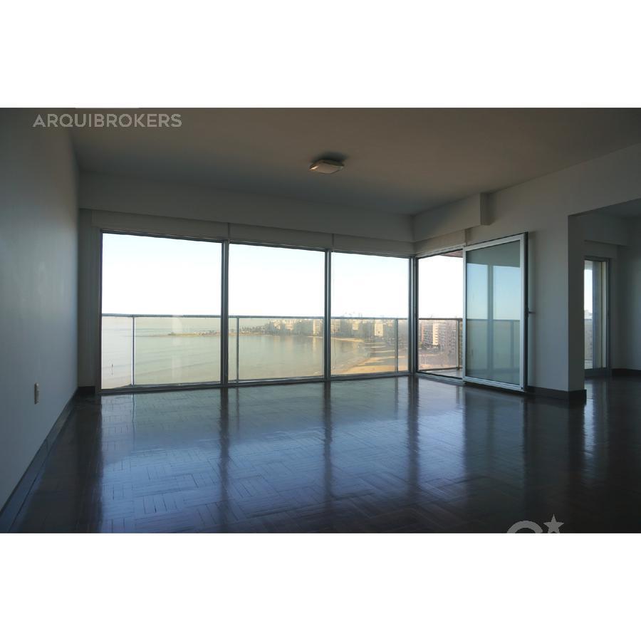 Foto Apartamento en Alquiler en  Pocitos ,  Montevideo  Apartamento 3 dormitorios en alquiler en Pocitos