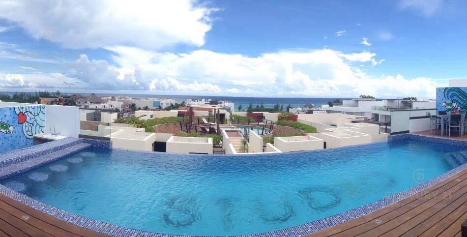 Foto Departamento en Renta en  Playa del Carmen ,  Quintana Roo     El mas amplio departamento 2 rec planta baja a pasos de la playa!!! P2855