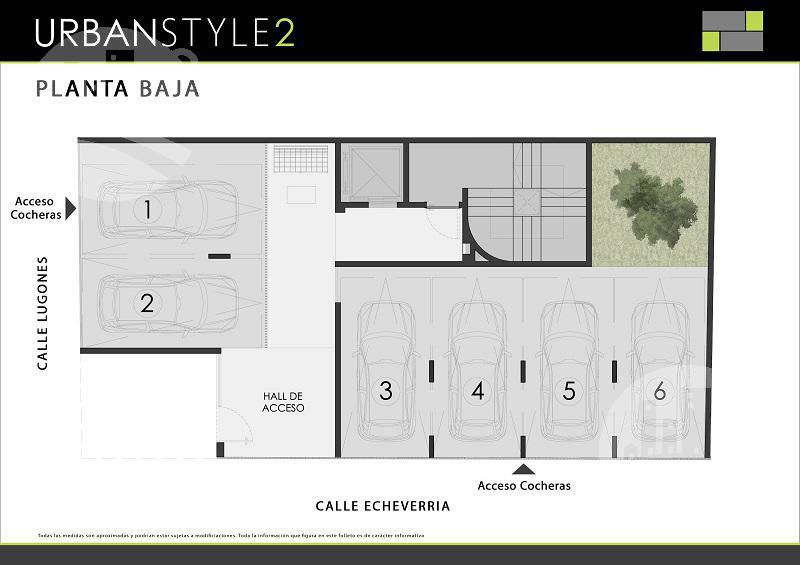 """Foto Departamento en Venta en  Villa Urquiza ,  Capital Federal  Departamento 2 amb. Urban Style -  1 """"A"""" con cochera fija cubierta"""