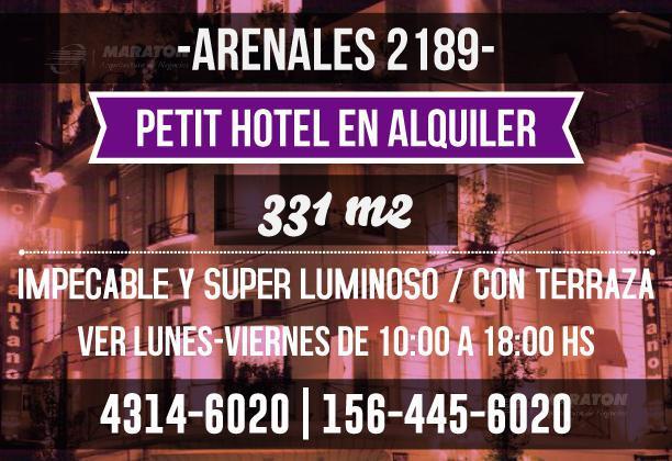 Foto Casa en Venta en  Recoleta ,  Capital Federal  Arenales al 2100