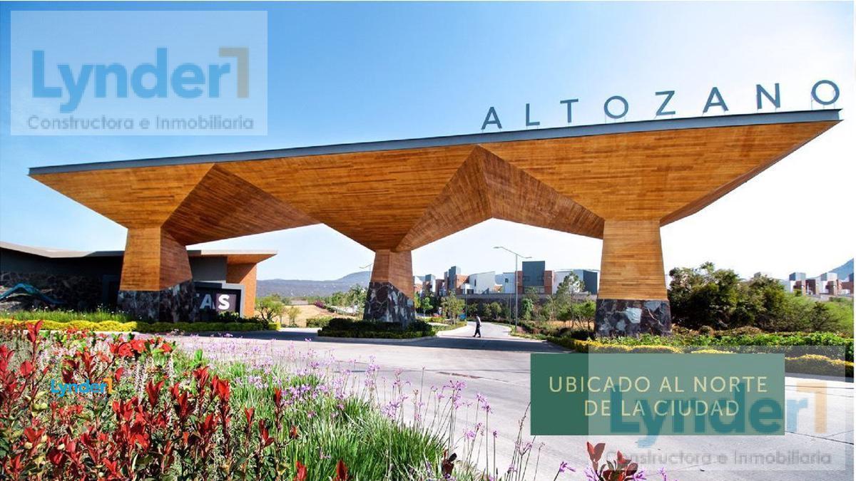Foto Terreno en Venta en  Altozano el Nuevo Queretaro,  Querétaro                  Terreno en venta en  Altozano Queretaro, Cluster Río  45. Esquina - Irregular