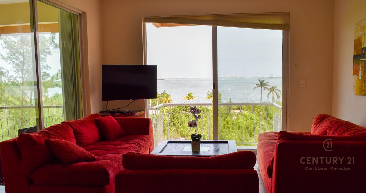 Foto Departamento en Renta en  Cancún,  Benito Juárez  Renta penthouse en Cancún Residencial La Vista  3 habitaciones C2804