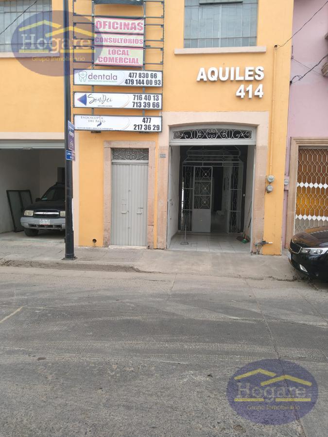 Oficina en Renta, excelente espacio para consultorio o para oficina en la Col. Obregón León Gto.