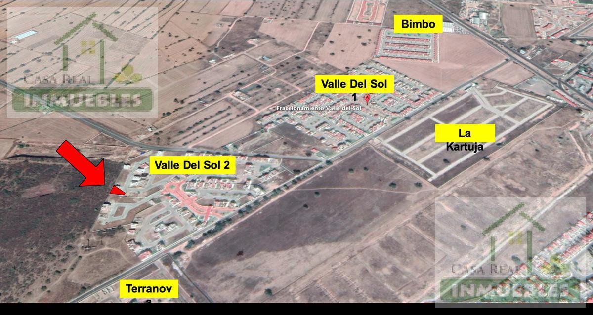 Foto Terreno en Venta en  Fraccionamiento Valle del Sol,  Pachuca  Terreno en Valle del Sol 2a Sección.