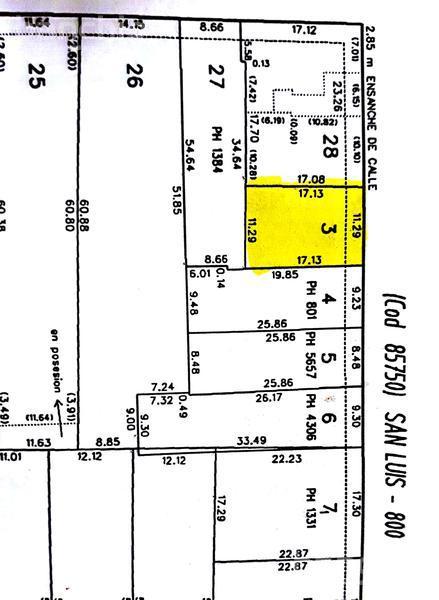 SAN LUIS al 800, Rosario, Santa Fe. Venta de Terrenos - Banchio Propiedades. Inmobiliaria en Rosario