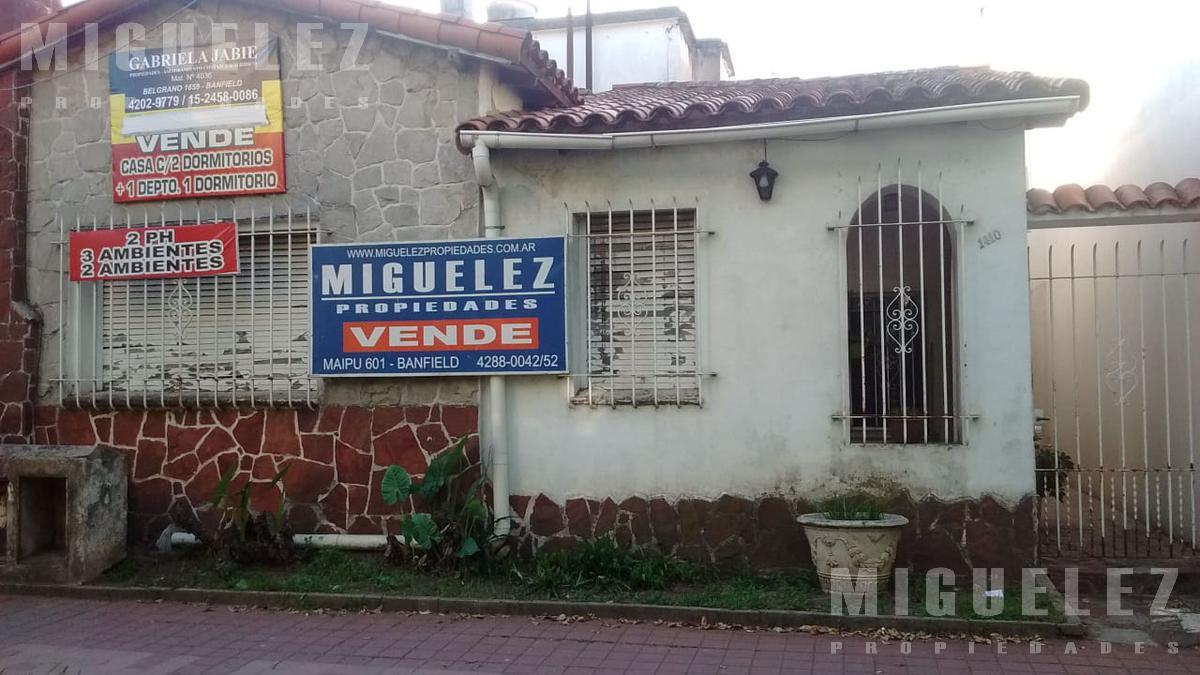 Foto Casa en Venta en  Banfield,  Lomas De Zamora  VIAMONTE 1410, BANFIELD