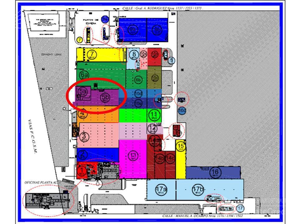 Foto Nave Industrial en Alquiler en  Hurlingham ,  G.B.A. Zona Oeste  M. Ocampo al 1100