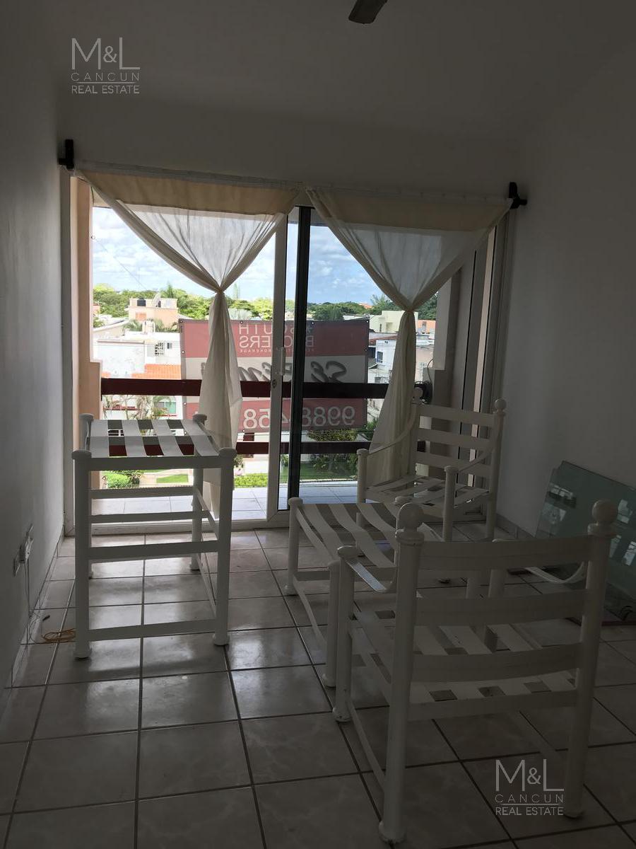 Foto Departamento en Renta en  Supermanzana 15,  Cancún  Departamento en Renta amueblado en Cancún, Islas del Caribe, 4 recámaras y roof garden