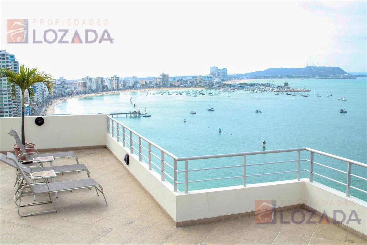 Foto Departamento en Alquiler en  San Lorenzo,  Salinas  Departamento con vista al mar de alquiler en San Lorenzo