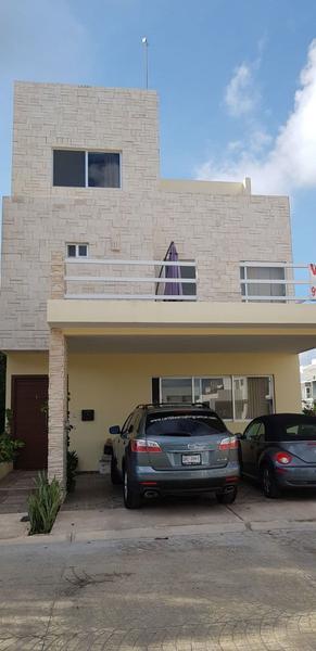 Foto Casa en Venta en  Cancún ,  Quintana Roo  Magnifica casa de 5 habitaciones en Aqua Residencial, única en  la zona, piscina, incluye muebles C2439