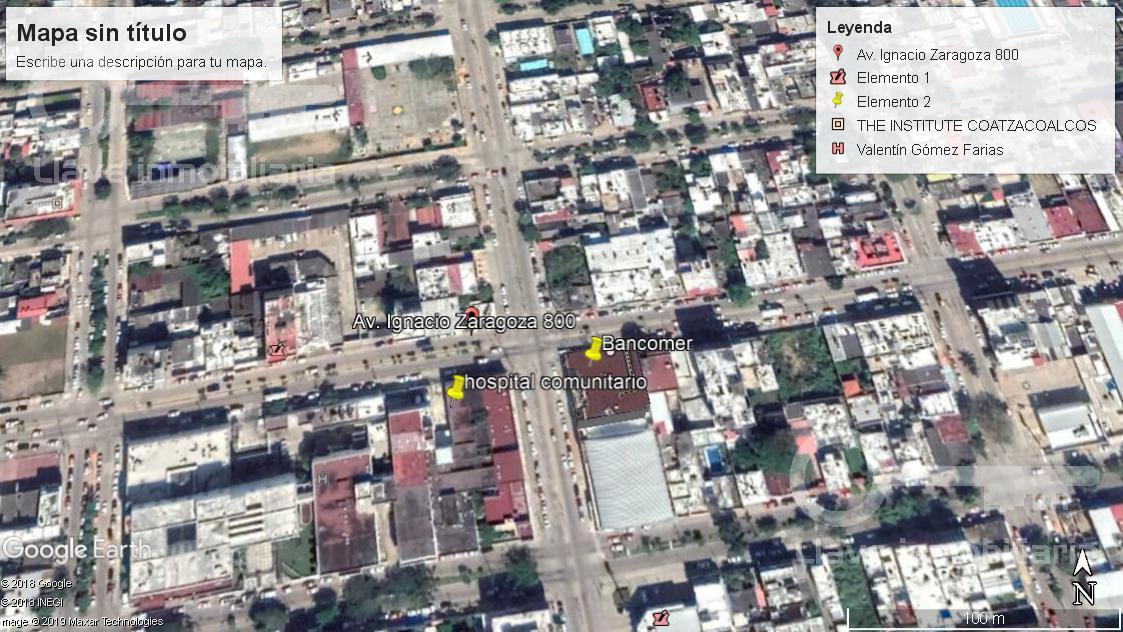 Foto Terreno en Venta | Renta en  Coatzacoalcos Centro,  Coatzacoalcos  Terreno en Venta, Zaragoza, Col. Centro