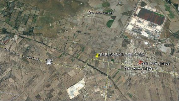 Foto Terreno en Venta en  Pueblo San José de Chiapa,  San José Chiapa  Carretera Federal Tiziutlan - Puebla, San José Chiapa, Puebla, C.P. 72160
