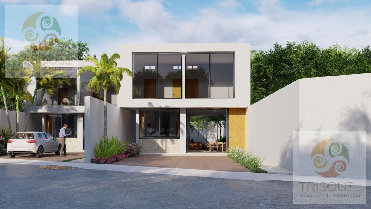 Foto Casa en Venta en  Pueblo Chichi Suárez,  Mérida  Casa en venta  Las Acacias (Mod. A Y B) Chichí Suárez, Mérida Yucatán