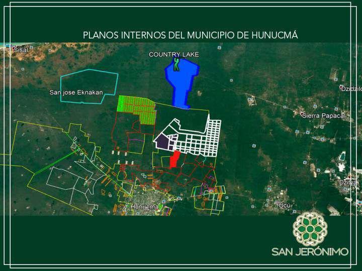 Foto Terreno en Venta en  Hunucmá ,  Yucatán  SAN JERÒNIMO lotes de inversiòn