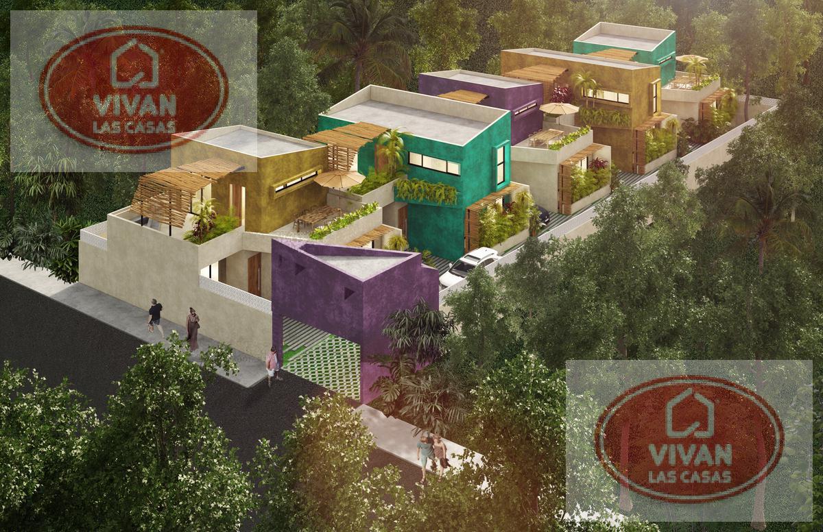 Foto Casa en Venta en  Tulum ,  Quintana Roo  Villa 2 Rec - La Veleta - Tulum - JungleG