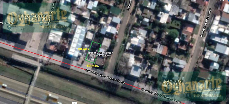 Foto Terreno en Venta en  Moreno ,  G.B.A. Zona Oeste  Acceso Oeste Colectora Norte km35 entre Ricardo Gutierrez y Joaquin V Gonzalez