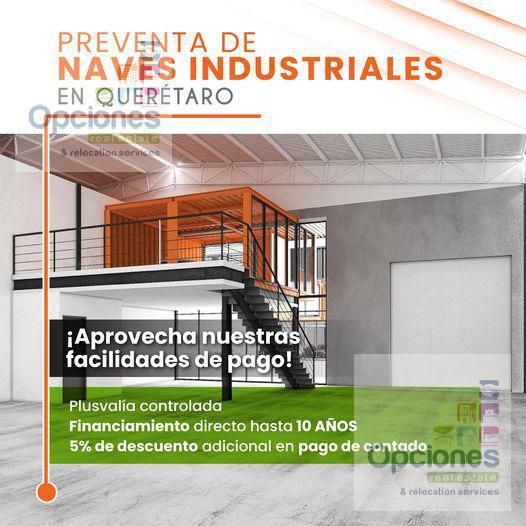 Foto Bodega de guardado en Venta en  Querétaro ,  Querétaro  BODEGAS EN PREVENTA FRENTE A PARQUE INDUSTRIAL QUERETARO