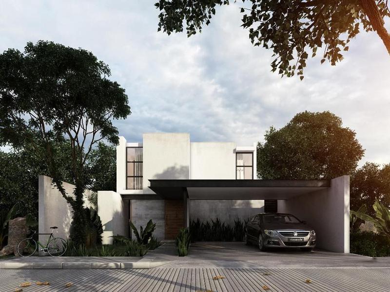 Foto Casa en condominio en Venta en  Pueblo Conkal,  Conkal  Casa en Venta Privada Arbórea (Mod. A) Conkal, Mérida Yucatán