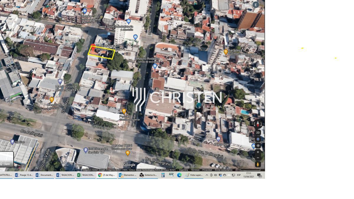 Foto Terreno en Venta en  Recoleta,  Santa Fe  25 DE MAYO al 3400