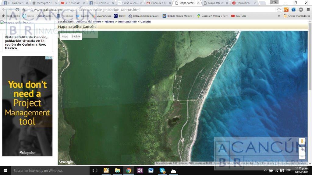 Foto Terreno en Venta en  Isla Mujeres ,  Quintana Roo  ISLA BLANCA