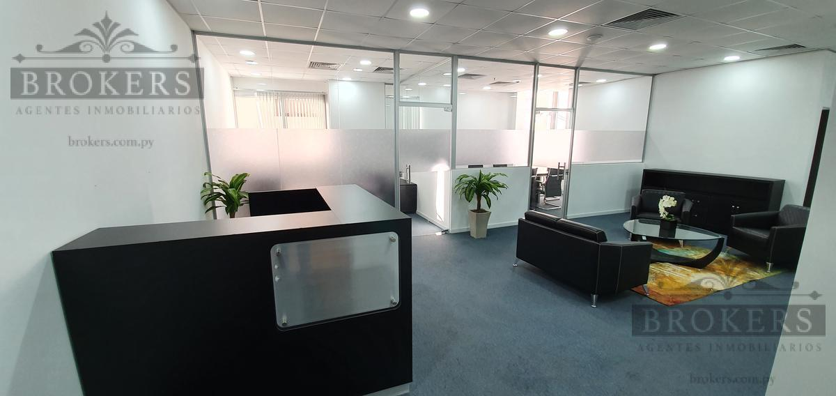 Foto Oficina en Alquiler en  Ycua Sati,  Santisima Trinidad  Alquilo Oficina Amoblada De 94 M2 En El Wtc Asunción