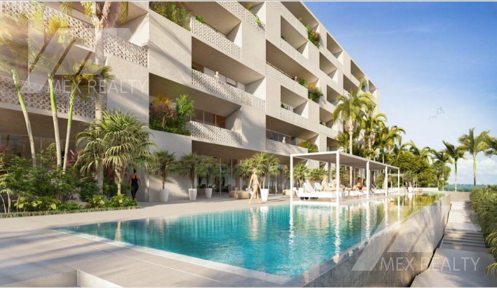 Foto Departamento en Venta en  Cancún,  Benito Juárez   Departamento en Pre Venta, ALESSIA , en Residencial Rio by Cumbres Cancún, Q, Roo, 2 Recamaras, Clave SIND14