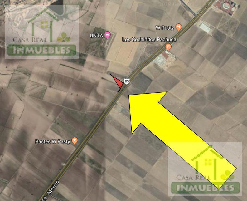 Foto Terreno en Venta en  Pueblo San Pedro Huaquilpan,  Zapotlán de Juárez  Terreno en Carretera Mexico Pachuca  (Acayuca)
