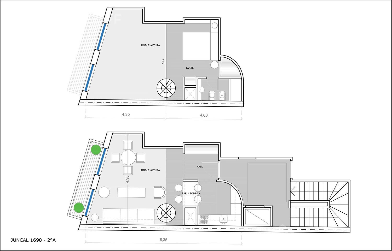 Departamento-Venta-Barrio Norte-JUNCAL 1600 e/RODRIGUEZ PEñA y MONTEVIDEO