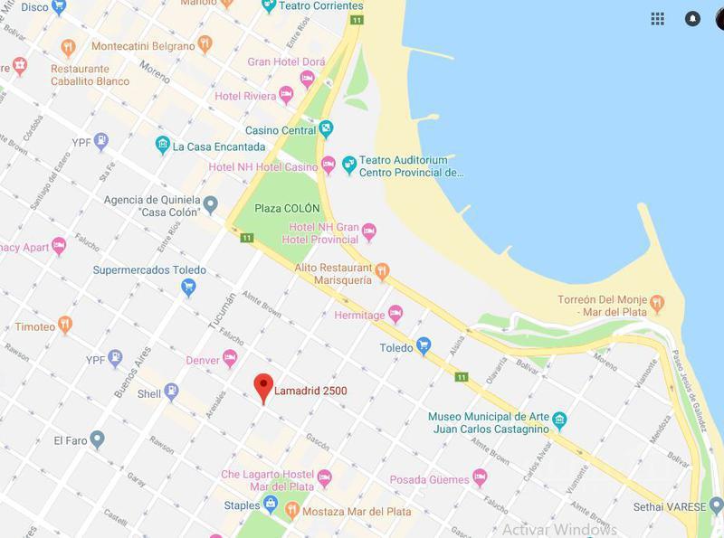 Foto Departamento en Alquiler | Venta en  Centro,  Mar Del Plata  Lamadrid al 2500 5°