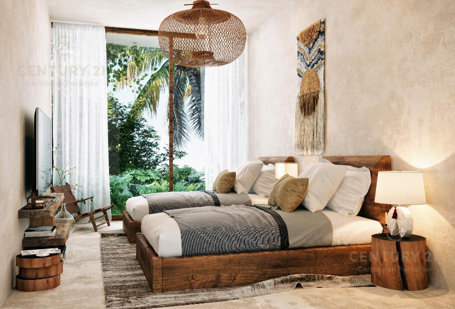Foto Departamento en Venta en  Tulum ,  Quintana Roo  Increible penthouse en condominio en medio de la selva Tulum P2828