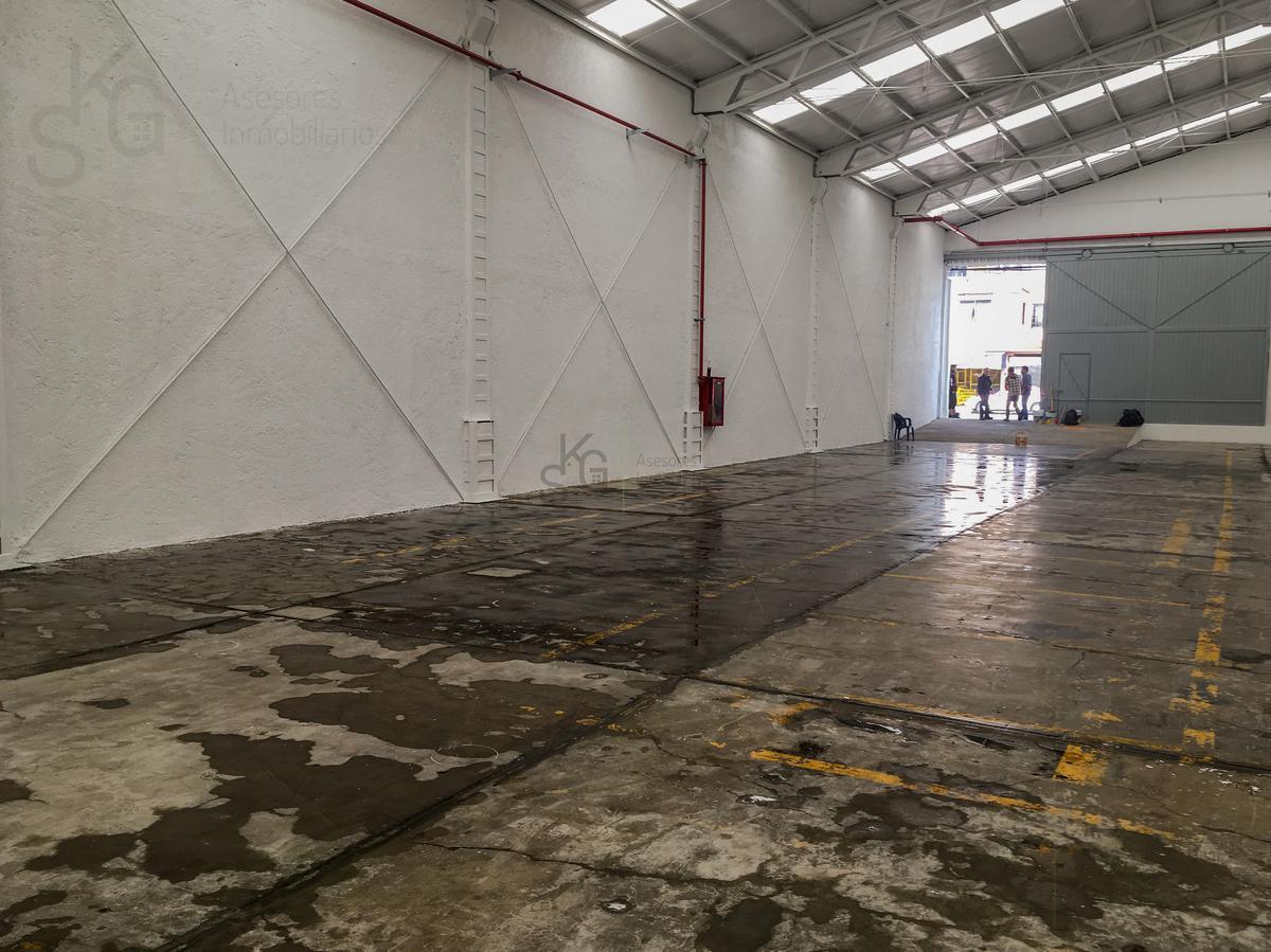 Foto Bodega Industrial en Renta en  Industrial Alce Blanco,  Naucalpan de Juárez  SKG Renta Bodega en Calzada de la Naranja, Alce Blanco de 686m2