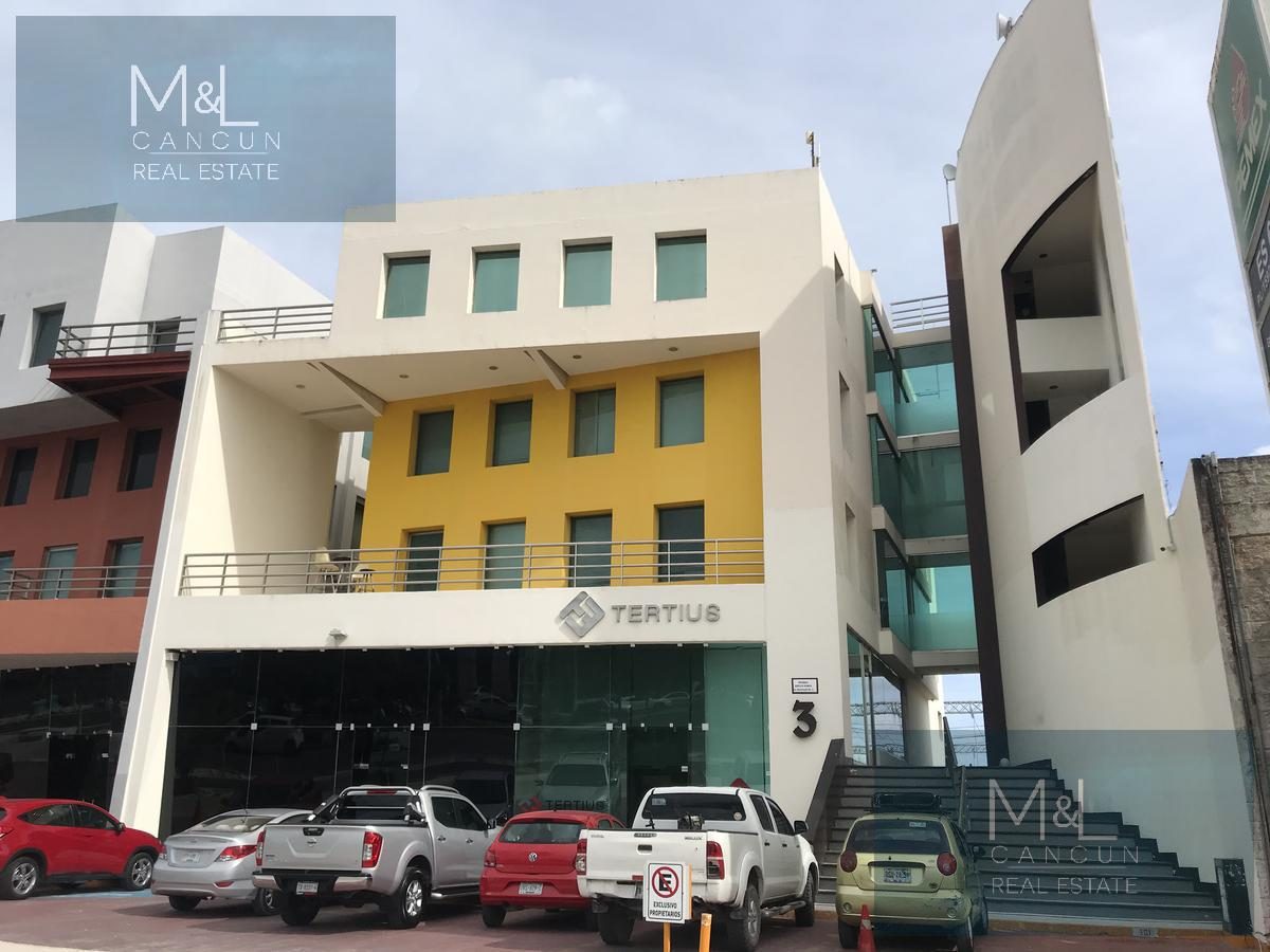 Foto Oficina en Renta en  Cancún Centro,  Cancún  Oficina en Renta Edificio Bonampak 3 con 4 privados en  Av. Bonampak, Cancún, Quintana Roo