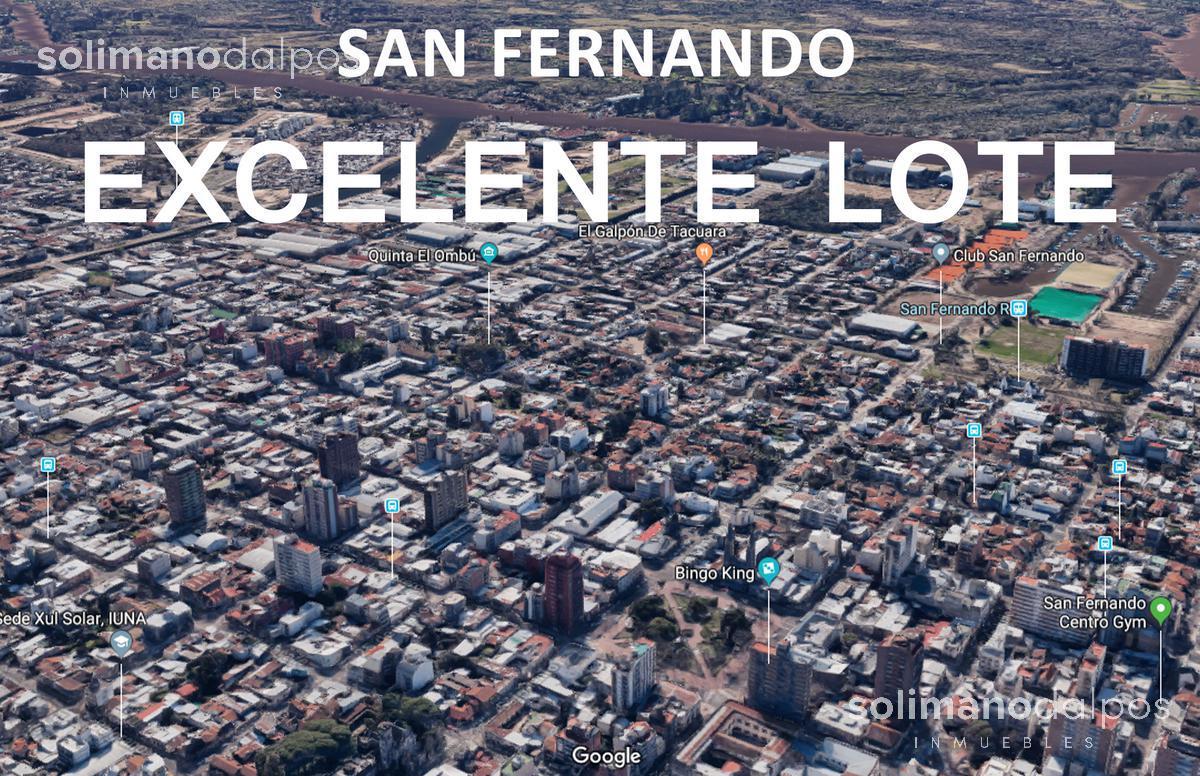 Foto Terreno en Venta en  San Fernando,  San Fernando  3 de Febrero al 400