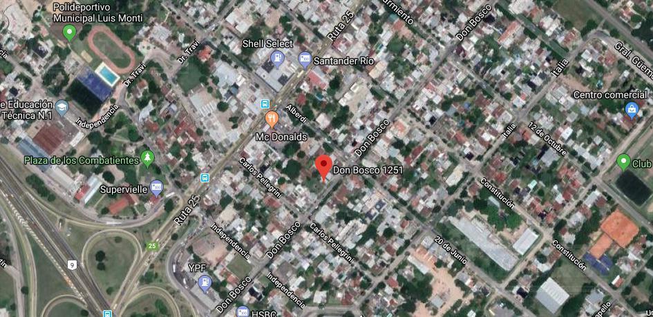 lote comercial en Escobar  Centro Calle Don Bosco