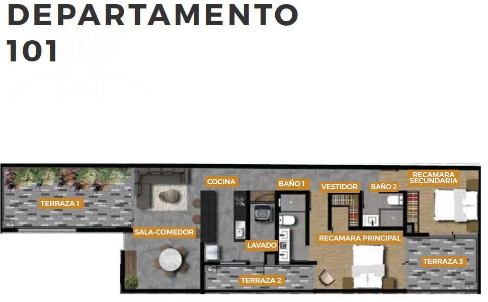 Foto Departamento en Venta en  Roma Norte,  Cuauhtémoc   SAN LUIS 136