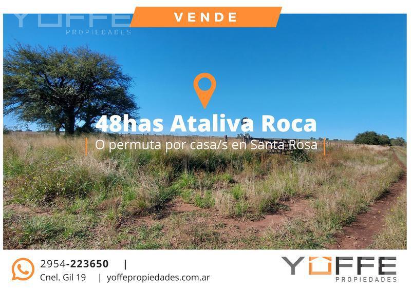 Foto Campo en Venta en  Ataliva Roca,  Utracan  Ataliva Roca