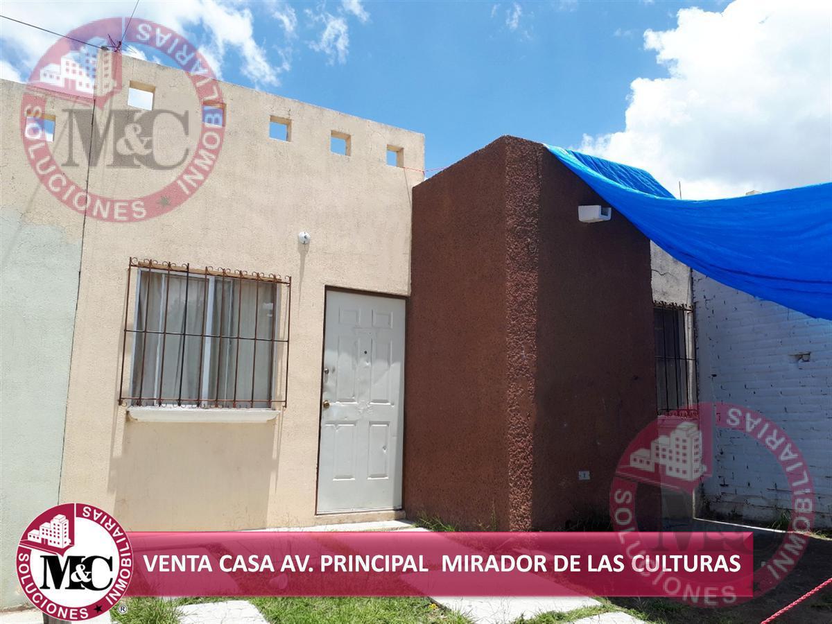 Foto Casa en Venta en  Fraccionamiento Mirador de las Culturas,  Aguascalientes  VENTA CASA EN AV. PRINCIPAL MIRADOR DE LAS CULTURAS