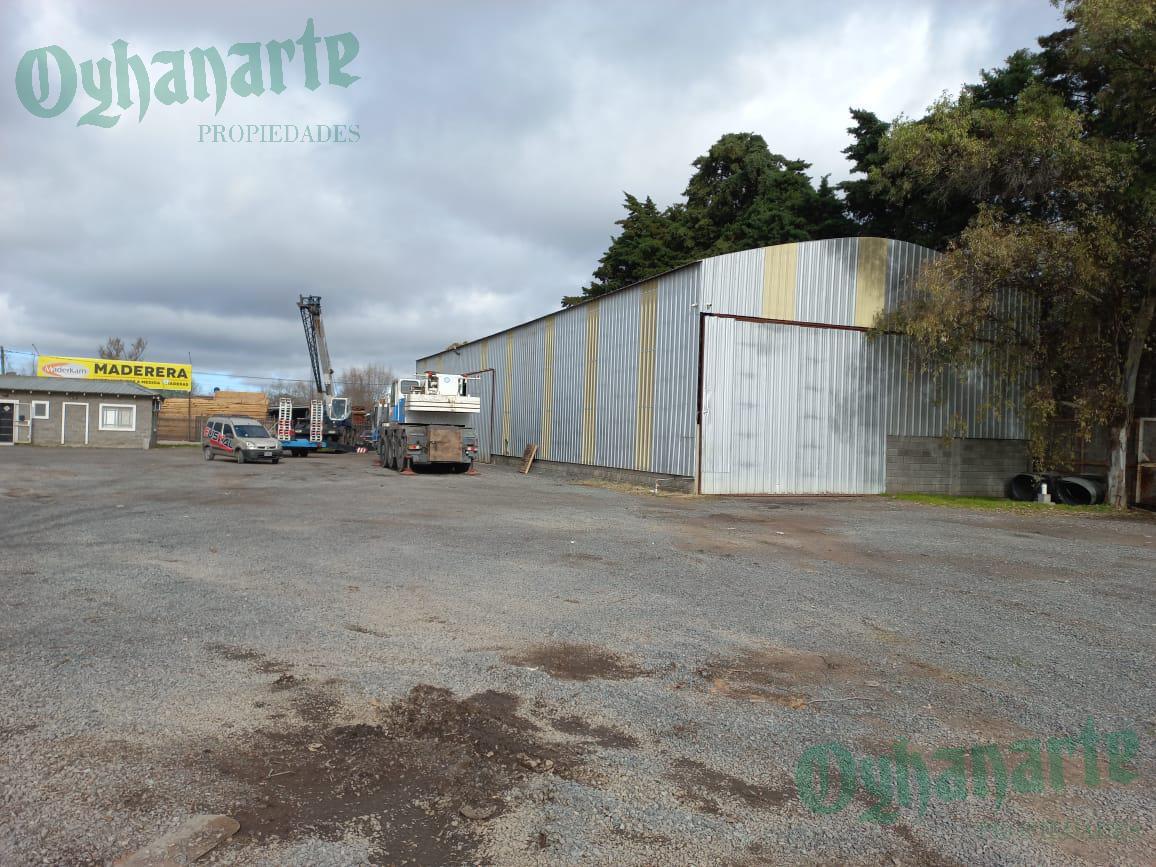 Foto Depósito en Alquiler en  General Rodriguez ,  G.B.A. Zona Oeste  DEPÓSITO COMERCIAL sobre ACCESO OESTE km44