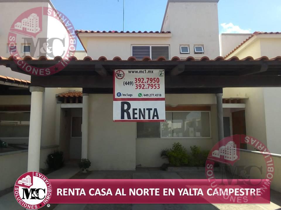 Foto Casa en Renta en  Condominio Yalta Campestre,  Jesús María  Solandra al 100